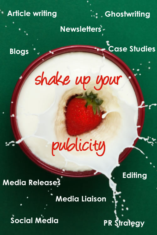 Shake Up Your Publicity