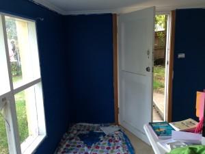 The corner painting