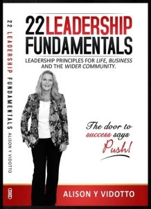 front cover  22 Leadership Fundamentals   Alison Y Vidotto