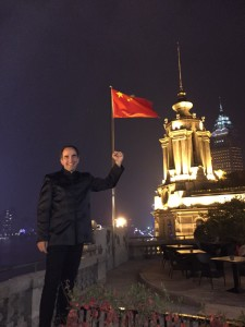 John Marcarian in China