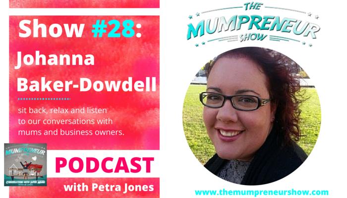 Johanna Baker-Dowdell The Mumpreneur Show Strawberry Communications