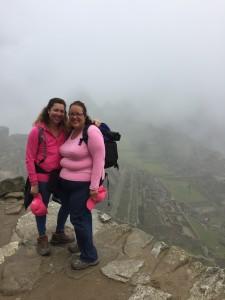 Annnalisa & Johanna at Machu Picchu